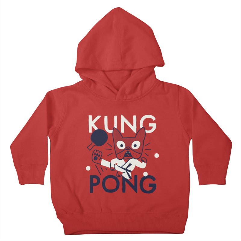 Kung Pong Kids Toddler Pullover Hoody by Mauro Gatti House of Fun