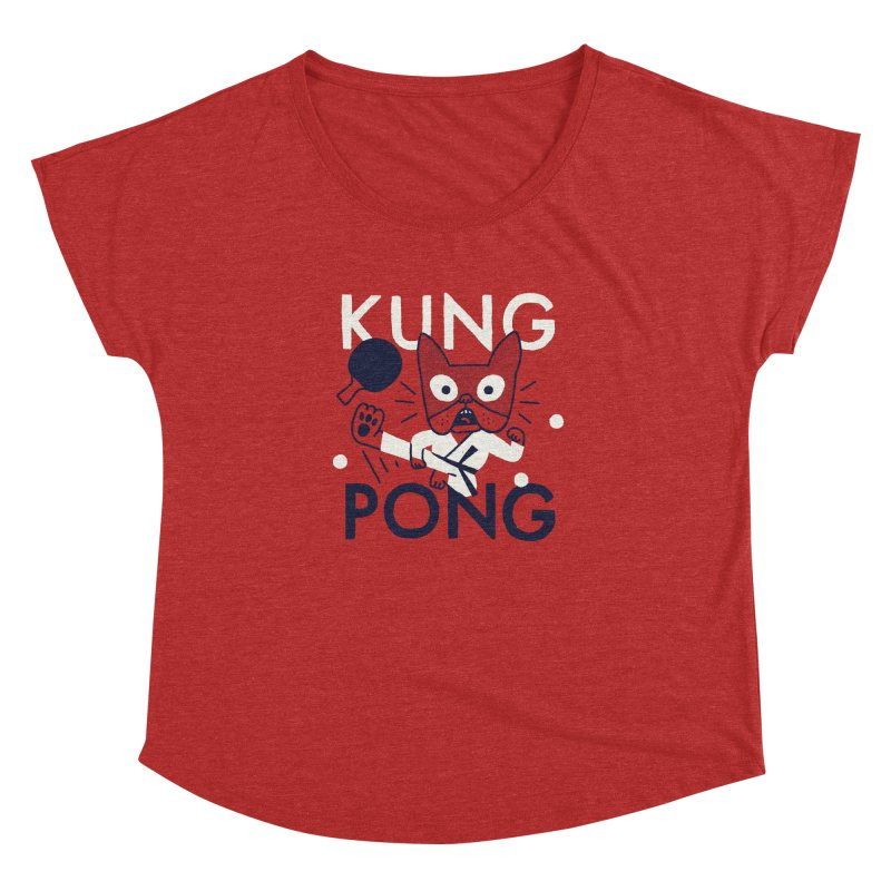 Kung Pong Women's Dolman by Mauro Gatti House of Fun