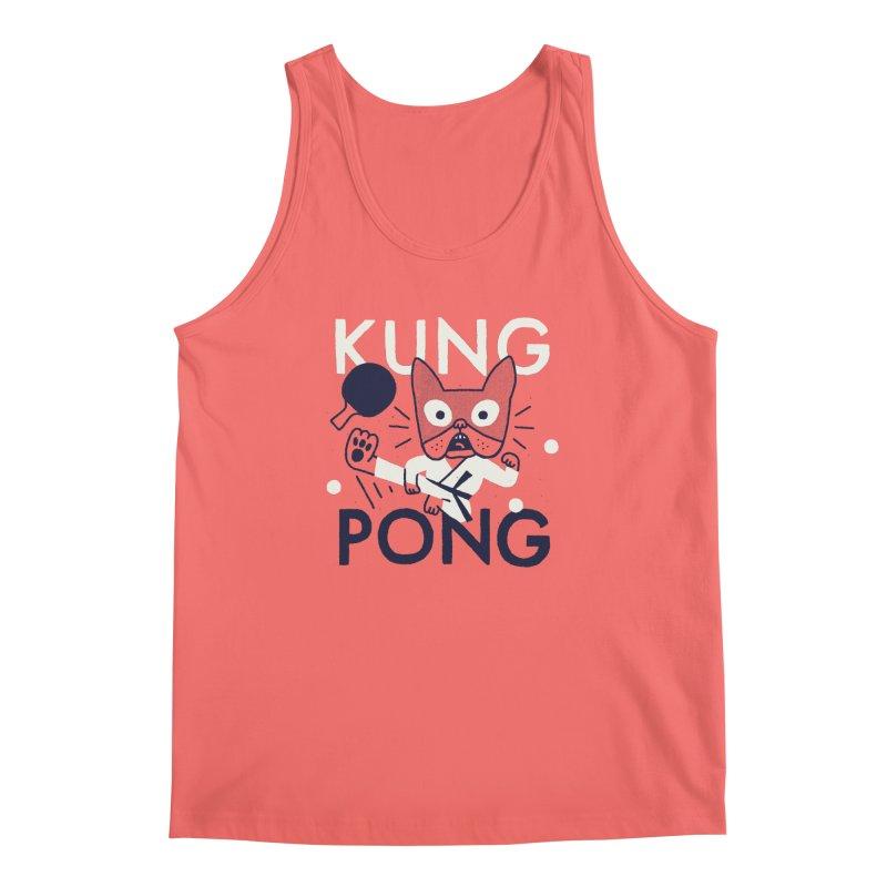 Kung Pong Men's Tank by Mauro Gatti House of Fun