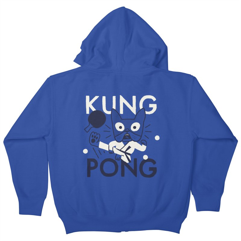Kung Pong Kids Zip-Up Hoody by Mauro Gatti House of Fun