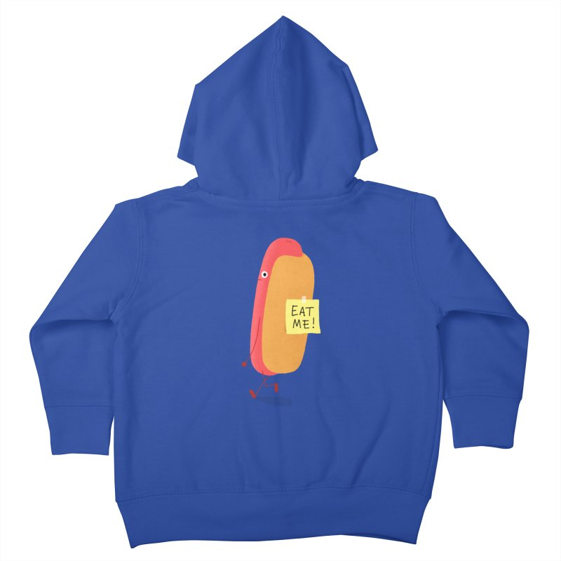 Hot Dog Prank Kids Toddler Zip-Up Hoody by Mauro Gatti House of Fun