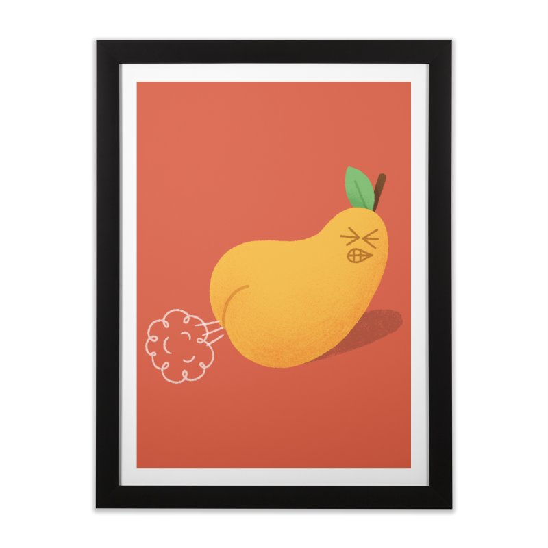 Nasty Pear Home Framed Fine Art Print by Mauro Gatti House of Fun