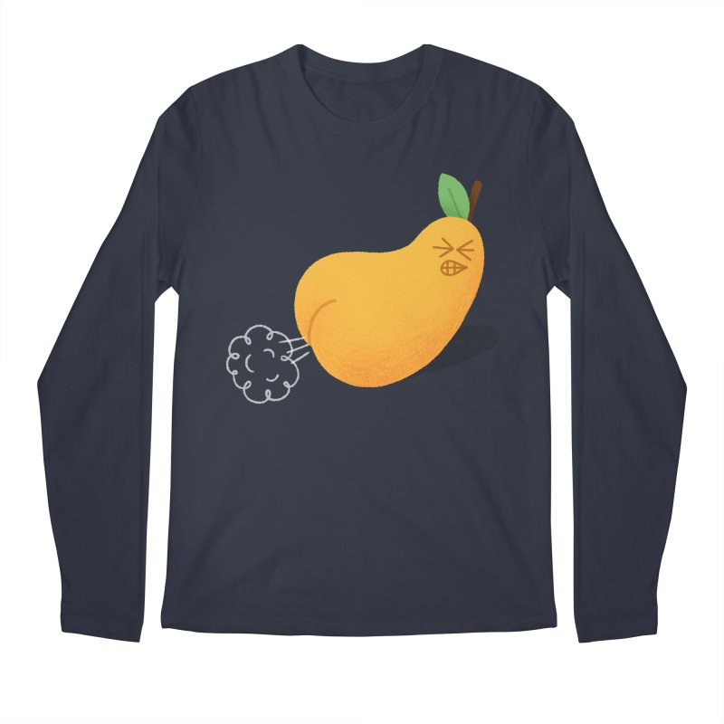 Nasty Pear Men's Regular Longsleeve T-Shirt by Mauro Gatti House of Fun