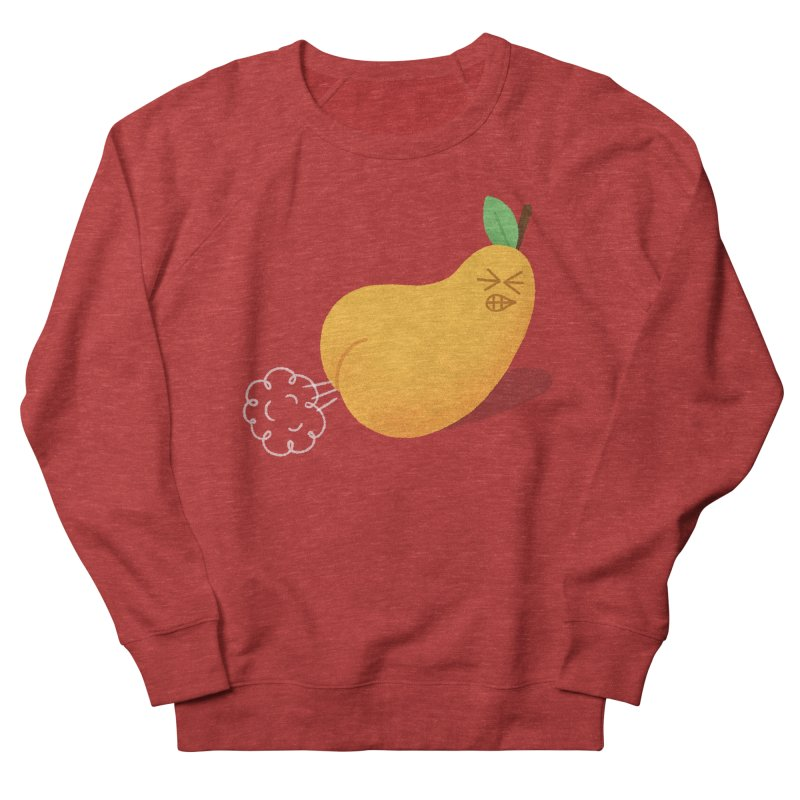 Nasty Pear Men's French Terry Sweatshirt by Mauro Gatti House of Fun