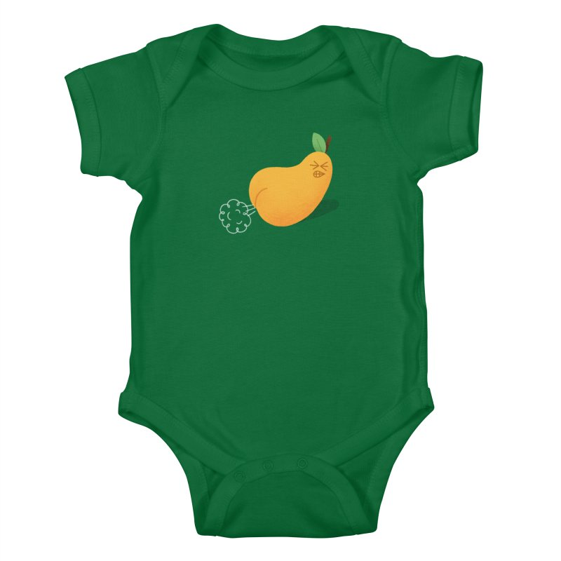 Nasty Pear Kids Baby Bodysuit by Mauro Gatti House of Fun
