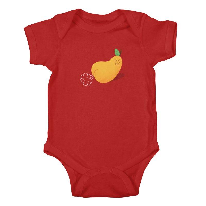 Nasty Pear Kids Baby Bodysuit by Mauro Gatti House of Fun