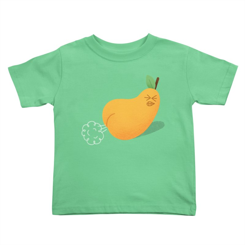 Nasty Pear Kids Toddler T-Shirt by Mauro Gatti House of Fun