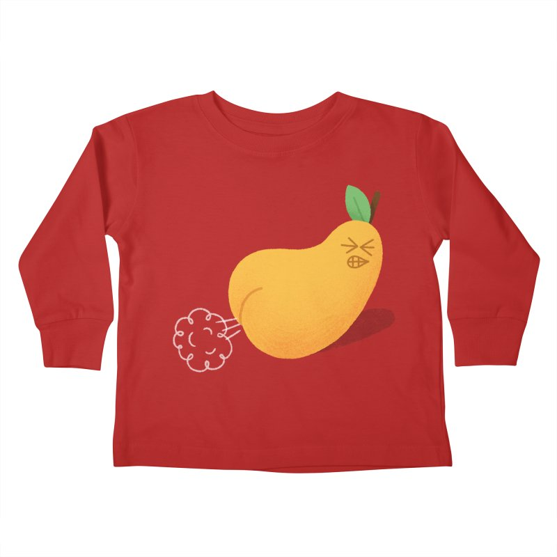 Nasty Pear Kids Toddler Longsleeve T-Shirt by Mauro Gatti House of Fun