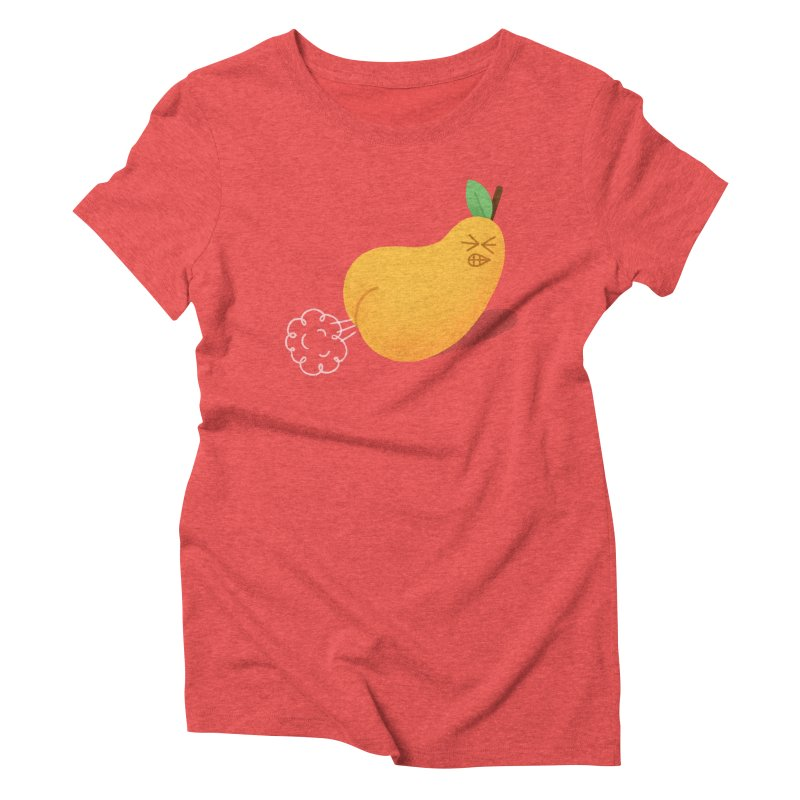 Nasty Pear Women's Triblend T-shirt by Mauro Gatti House of Fun