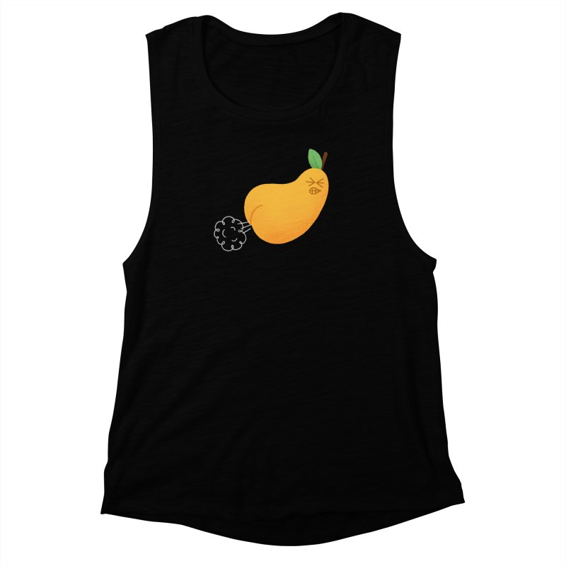 Nasty Pear Women's Muscle Tank by Mauro Gatti House of Fun