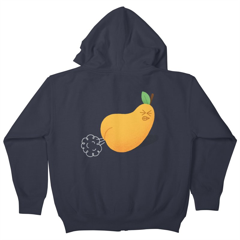 Nasty Pear Kids Zip-Up Hoody by Mauro Gatti House of Fun