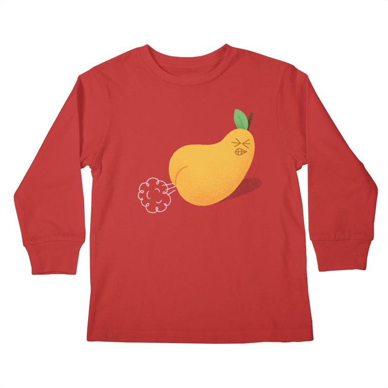 Nasty Pear Kids Longsleeve T-Shirt by Mauro Gatti House of Fun
