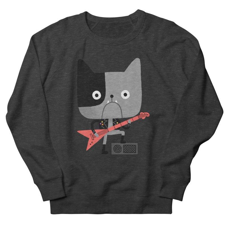 BullRock Men's French Terry Sweatshirt by Mauro Gatti House of Fun