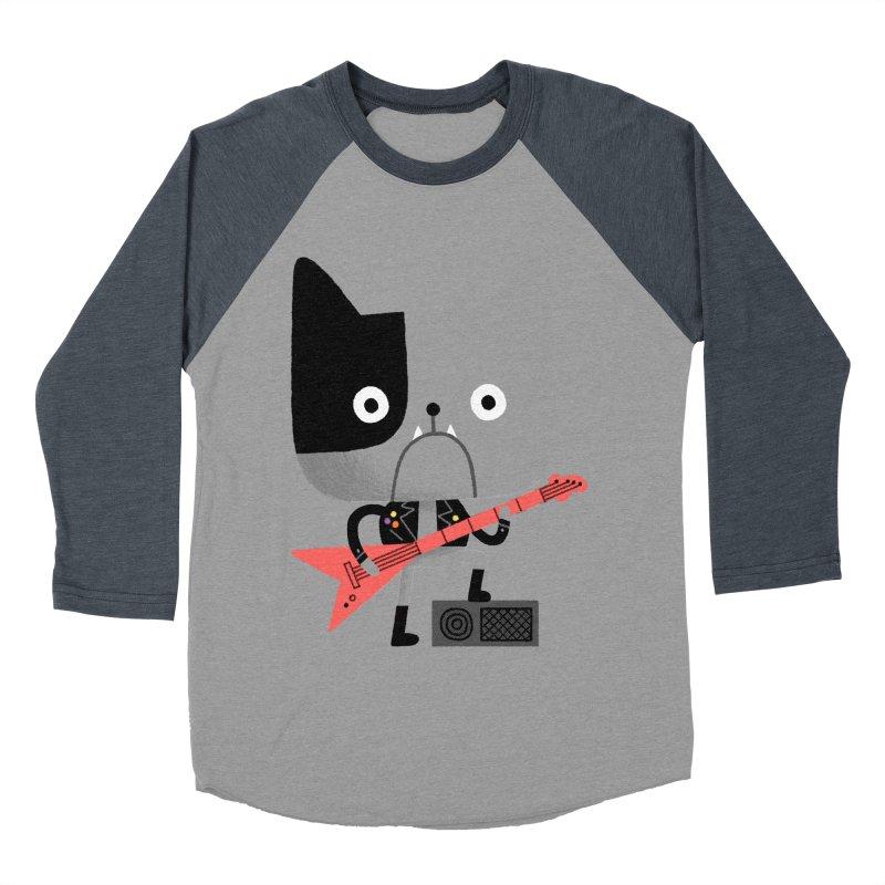 BullRock Women's Baseball Triblend T-Shirt by Mauro Gatti House of Fun