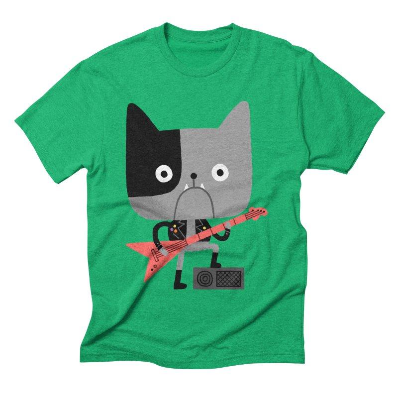 BullRock Men's Triblend T-shirt by Mauro Gatti House of Fun