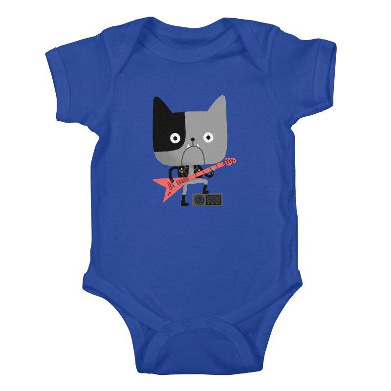 BullRock Kids Baby Bodysuit by Mauro Gatti House of Fun