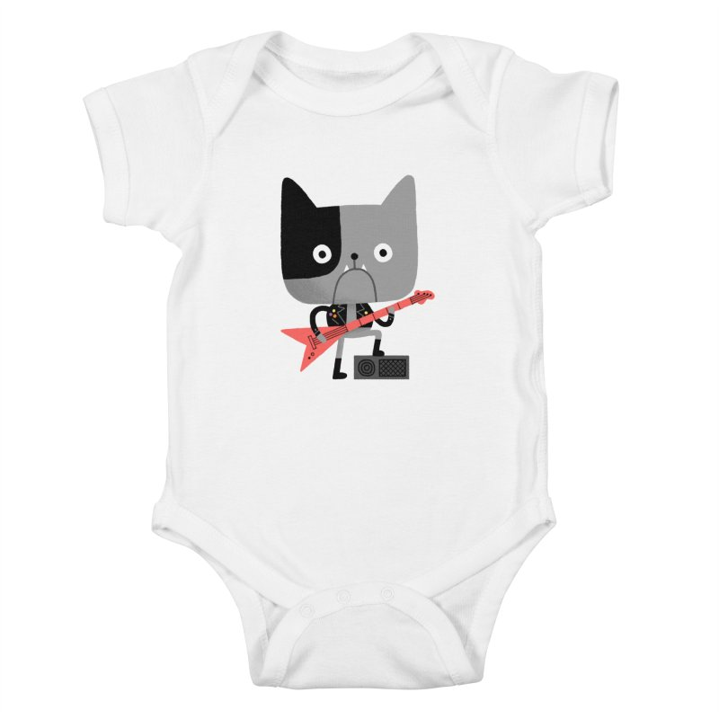 BullRock Kids Baby Bodysuit by Mauro Gatti House of Fun