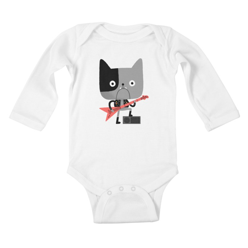 BullRock Kids Baby Longsleeve Bodysuit by Mauro Gatti House of Fun