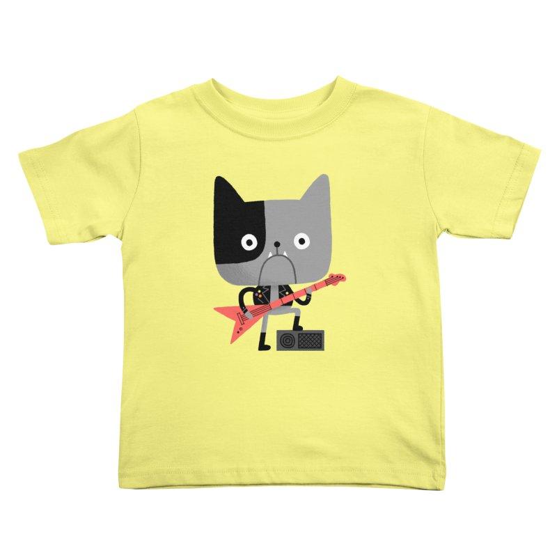 BullRock Kids Toddler T-Shirt by Mauro Gatti House of Fun