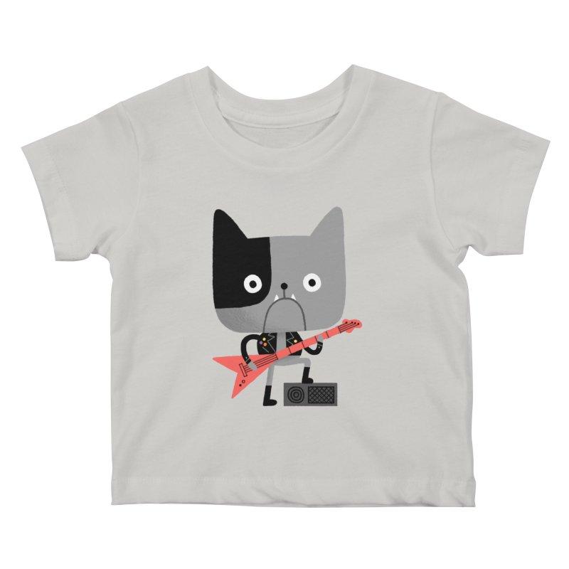 BullRock Kids Baby T-Shirt by Mauro Gatti House of Fun