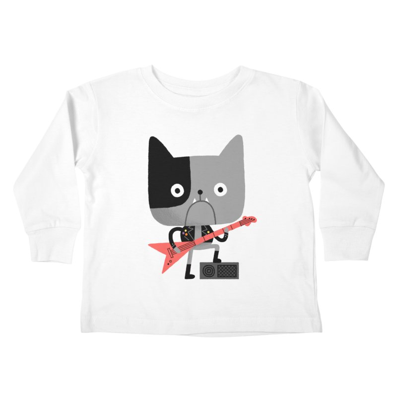 BullRock Kids Toddler Longsleeve T-Shirt by Mauro Gatti House of Fun