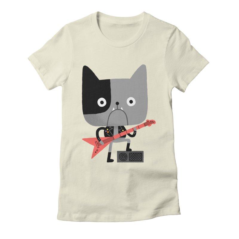 BullRock Women's Fitted T-Shirt by Mauro Gatti House of Fun
