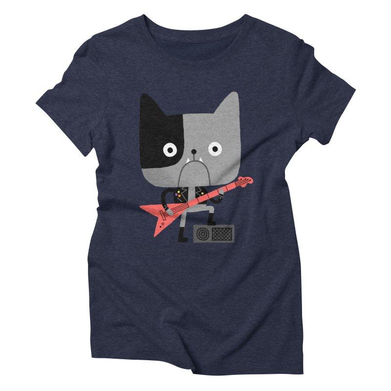 BullRock Women's Triblend T-Shirt by Mauro Gatti House of Fun