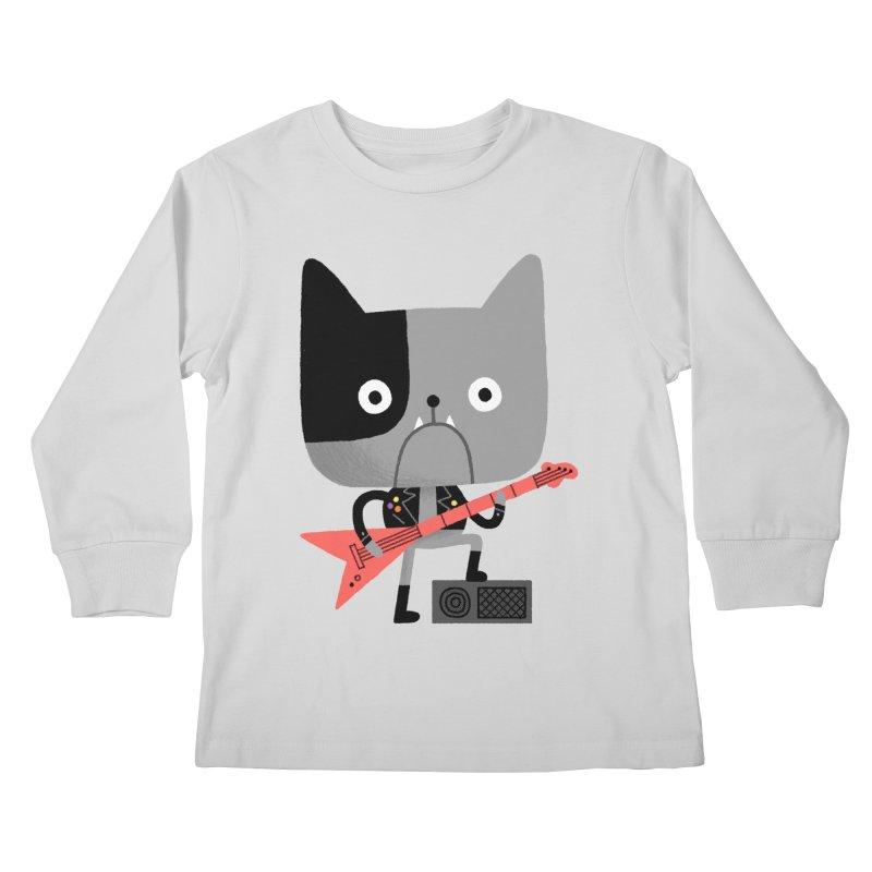 BullRock Kids Longsleeve T-Shirt by Mauro Gatti House of Fun