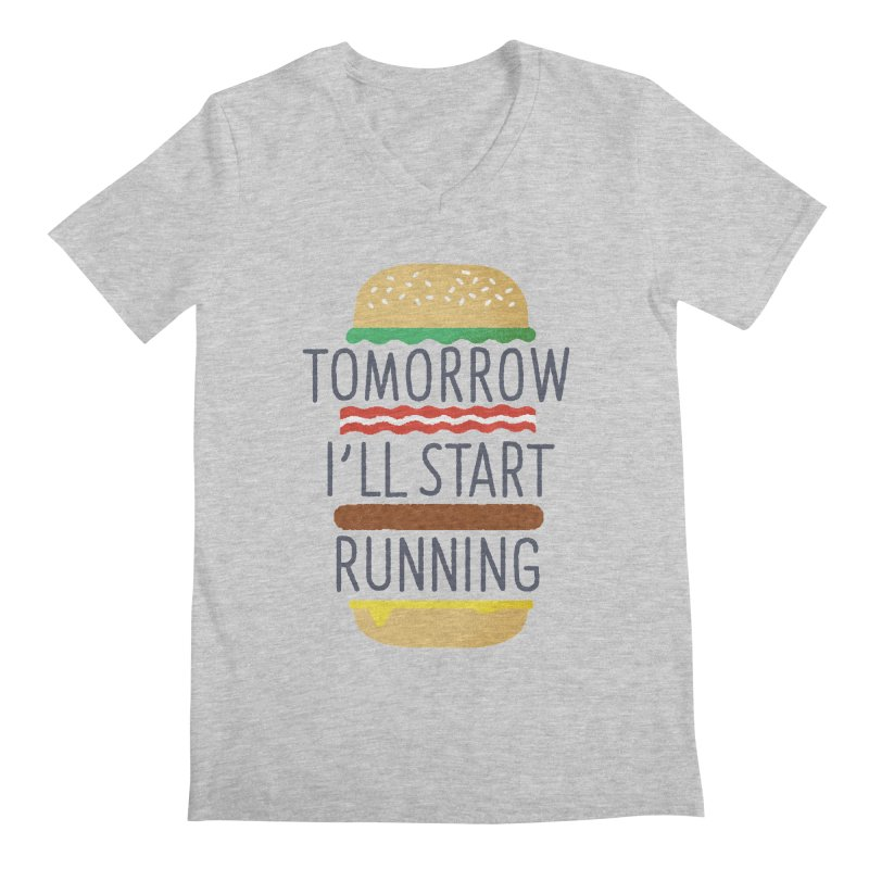 Tomorrow I'll start running   by Mauro Gatti House of Fun