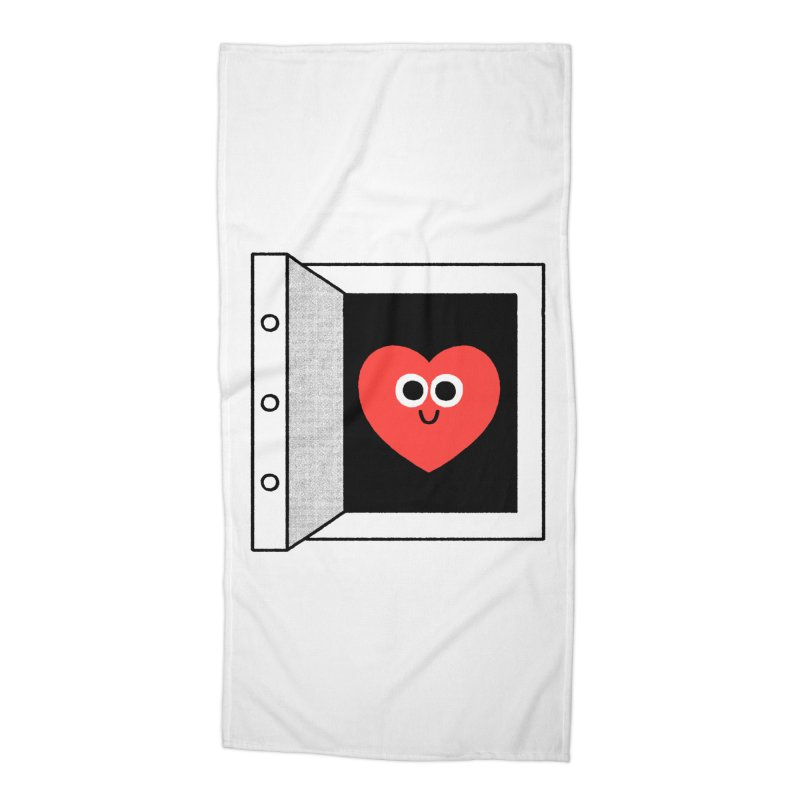 Open Love Accessories Beach Towel by Mauro Gatti House of Fun