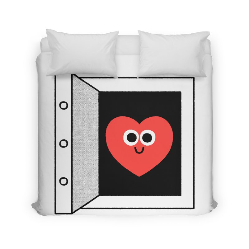 Open Love Home Duvet by Mauro Gatti House of Fun