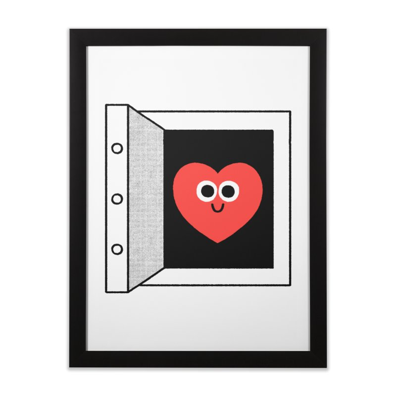 Open Love Home Framed Fine Art Print by Mauro Gatti House of Fun