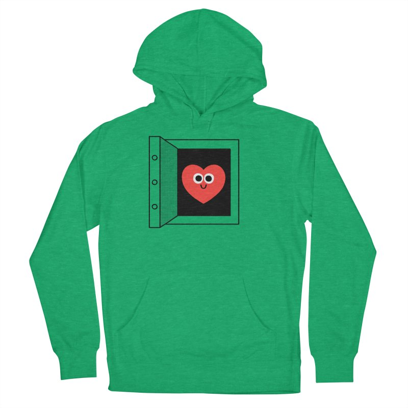 Open Love Women's French Terry Pullover Hoody by Mauro Gatti House of Fun