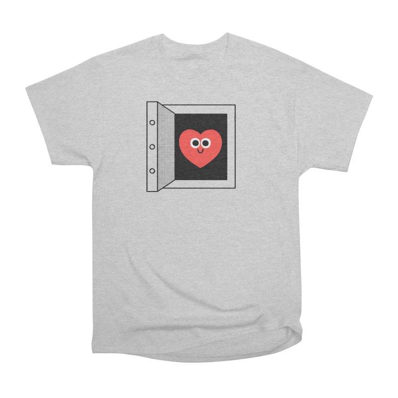 Open Love Men's Heavyweight T-Shirt by Mauro Gatti House of Fun