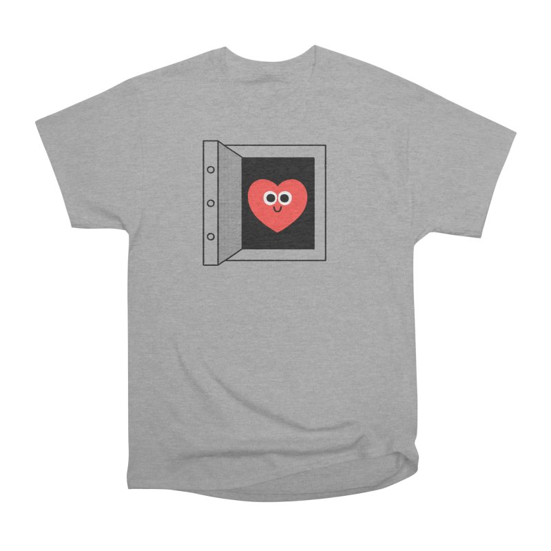 Open Love Women's Heavyweight Unisex T-Shirt by Mauro Gatti House of Fun