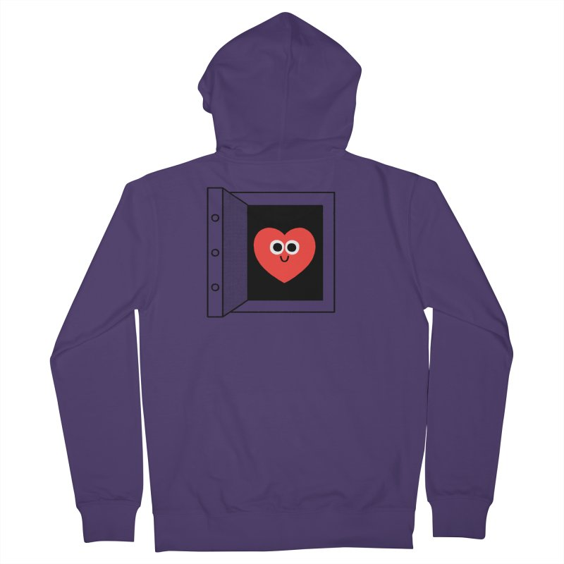 Open Love Women's French Terry Zip-Up Hoody by Mauro Gatti House of Fun