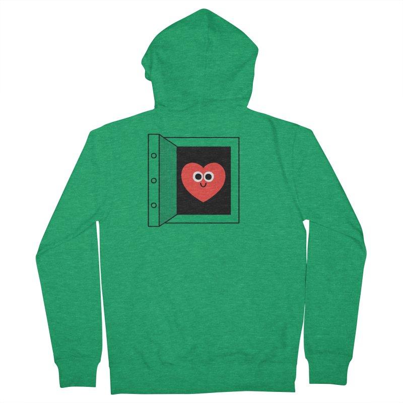 Open Love Men's Zip-Up Hoody by Mauro Gatti House of Fun