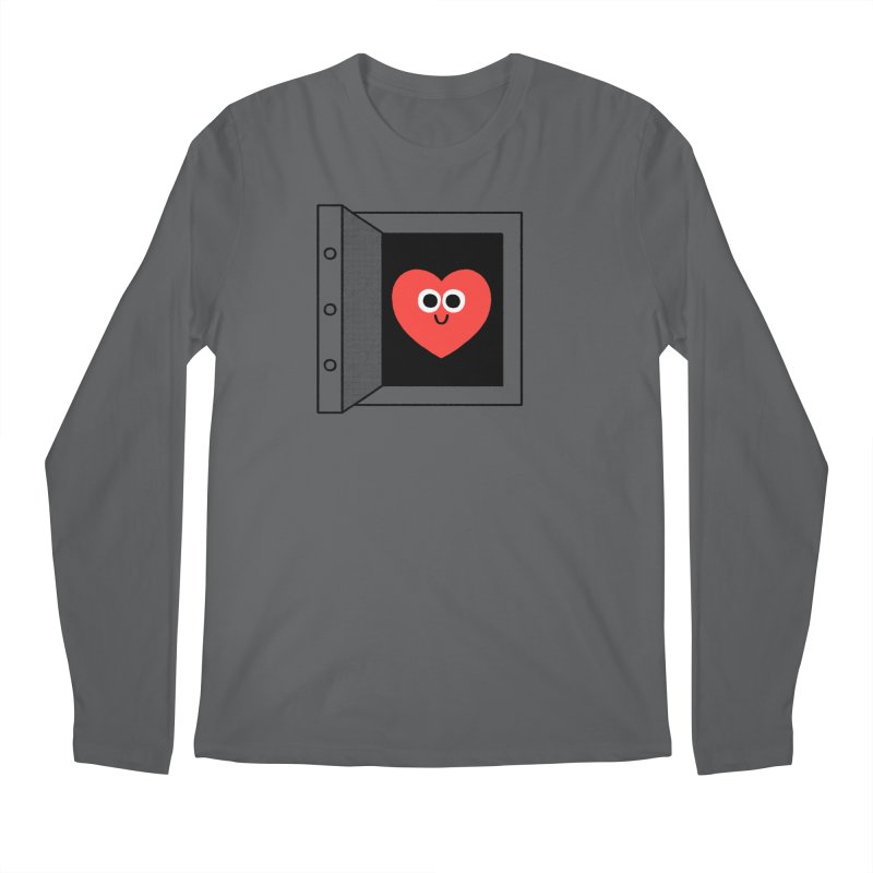 Open Love Men's Regular Longsleeve T-Shirt by Mauro Gatti House of Fun