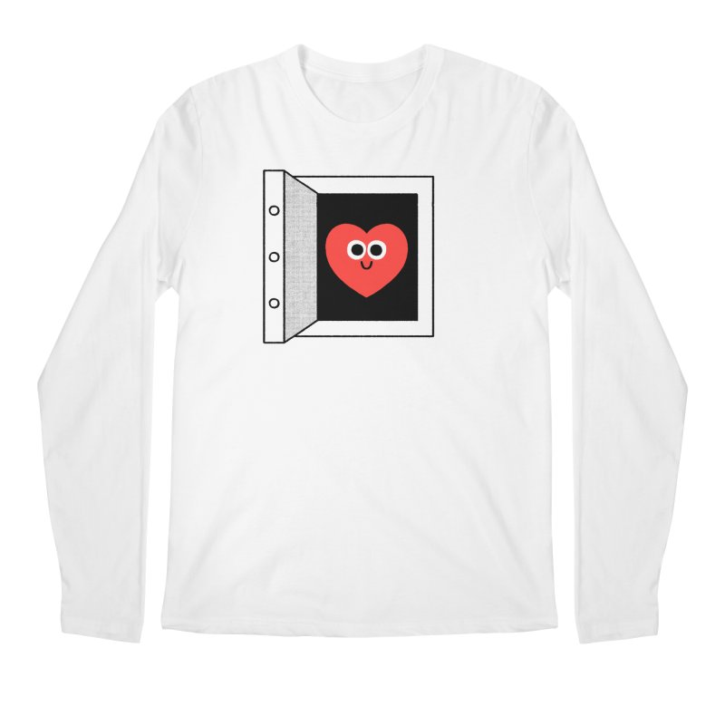 Open Love Men's Regular Longsleeve T-Shirt by Mauro Gatti House of Fun