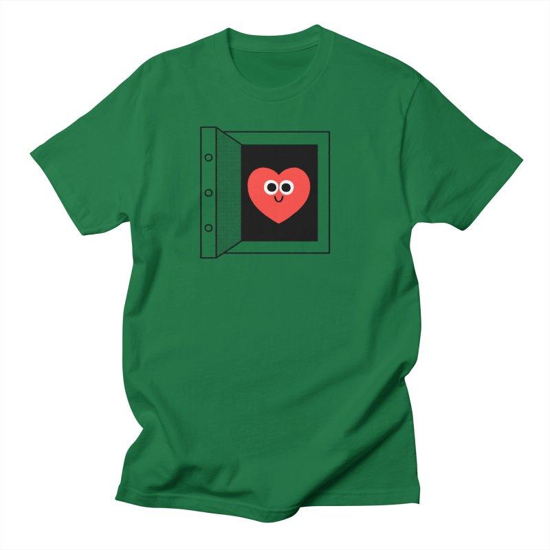 Open Love Women's Regular Unisex T-Shirt by Mauro Gatti House of Fun
