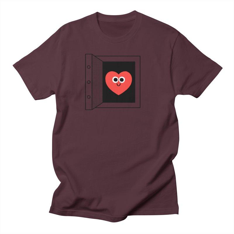 Open Love Men's Regular T-Shirt by Mauro Gatti House of Fun