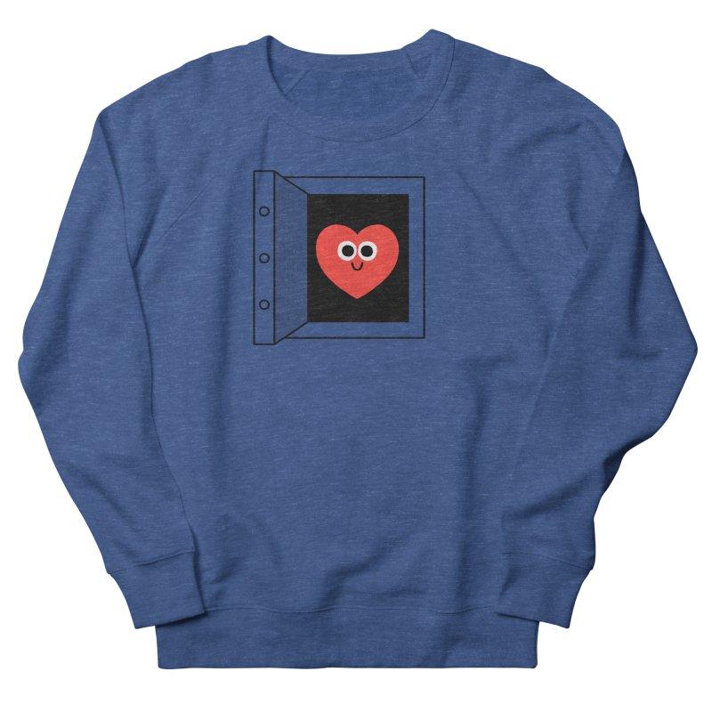 Open Love Men's French Terry Sweatshirt by Mauro Gatti House of Fun