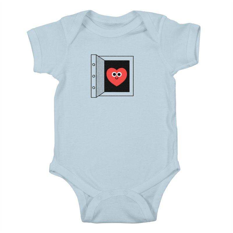 Open Love Kids Baby Bodysuit by Mauro Gatti House of Fun