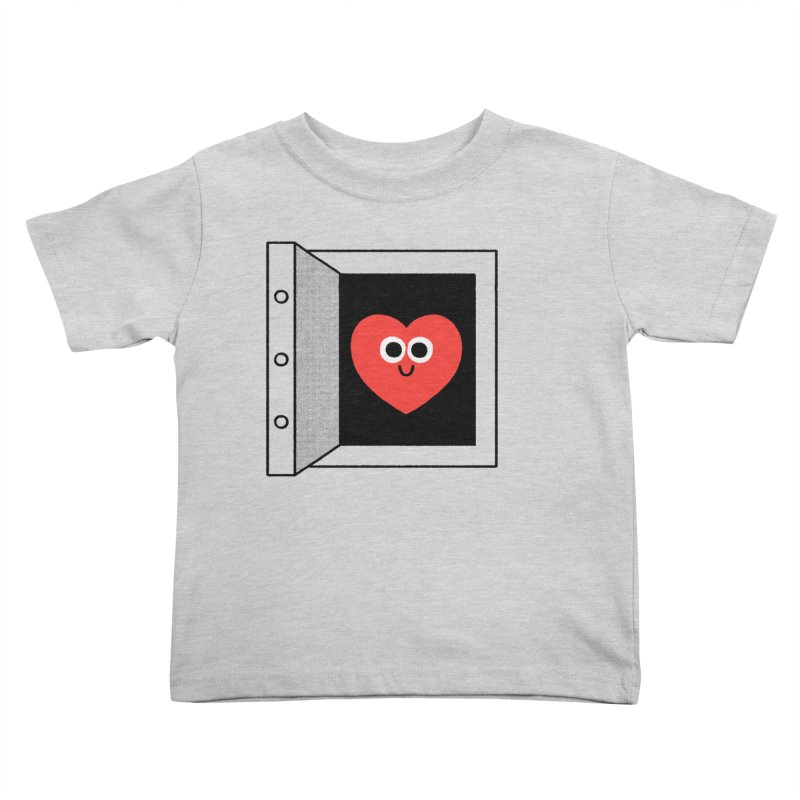 Open Love Kids Toddler T-Shirt by Mauro Gatti House of Fun
