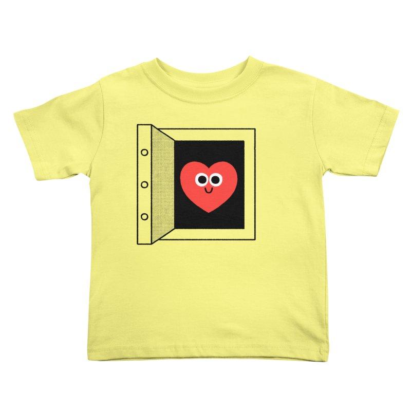 Open Love Kids Toddler T-Shirt by Mauro Gatti House of Fun