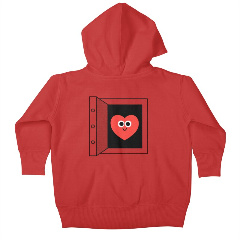 Open Love Kids Baby Zip-Up Hoody by Mauro Gatti House of Fun