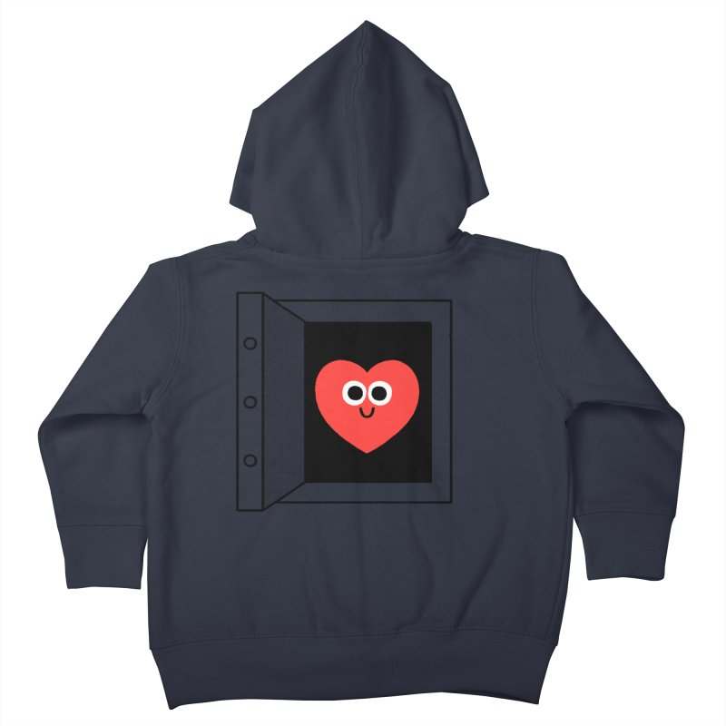 Open Love Kids Toddler Zip-Up Hoody by Mauro Gatti House of Fun