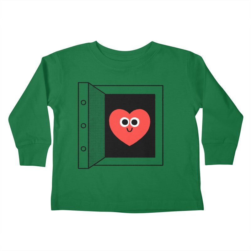 Open Love Kids Toddler Longsleeve T-Shirt by Mauro Gatti House of Fun