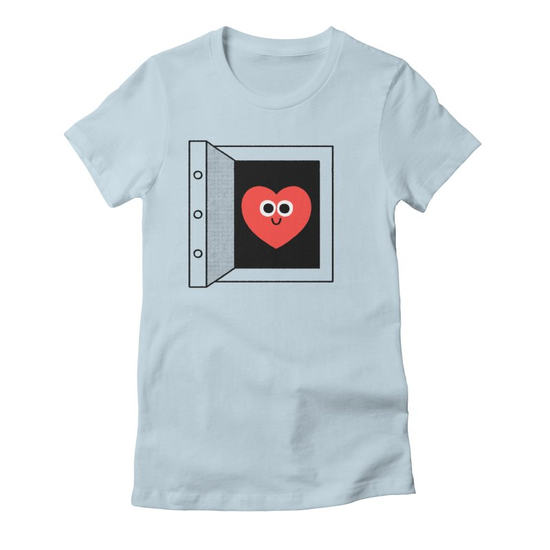 Open Love Women's Fitted T-Shirt by Mauro Gatti House of Fun