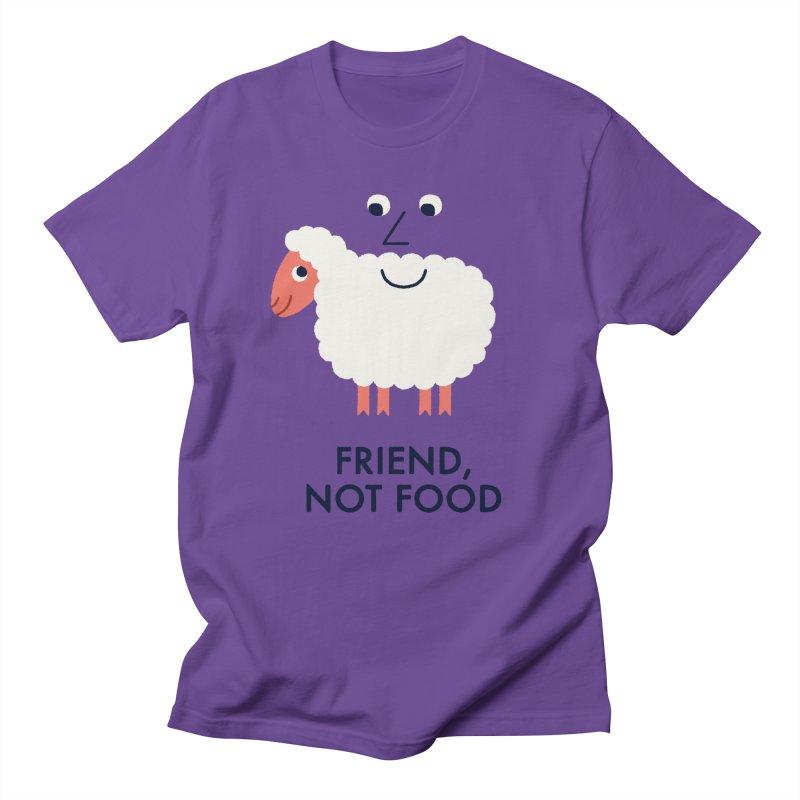 Friend, Not Food Men's T-Shirt by Mauro Gatti House of Fun